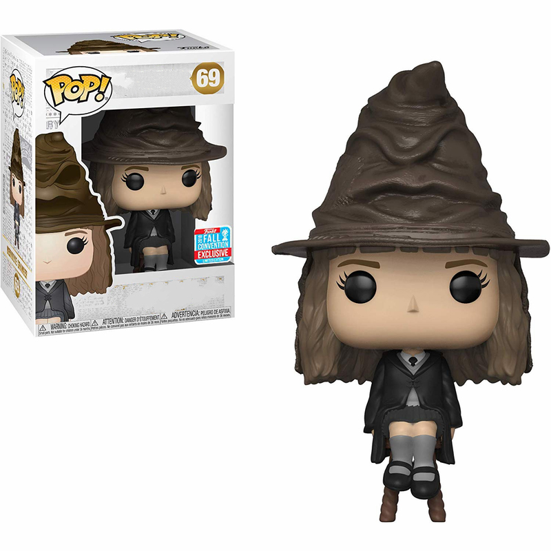 Funko Pop Harri Potter Hermione Granger Action Figure Collectible Model Toys For Children Birthday Boys Christmas Gift