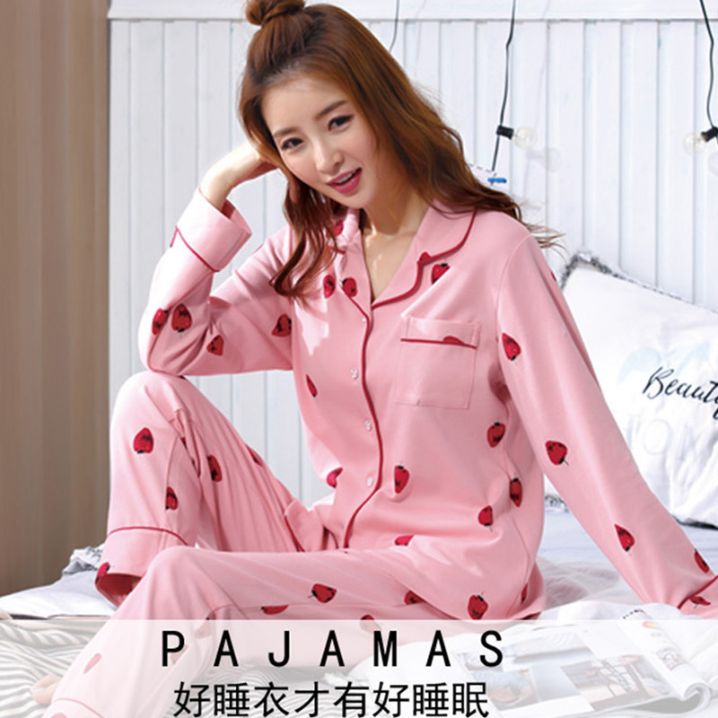 Spring And Autumn Women's Cartoon Long Sleeve Summer Thin Cardigan Sweet Strawberry Casual Large Size Casual Tracksuit WOMEN'S S