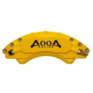 Image 1 - AOOA Aluminium Bremsscheibe Sattel Abdeckung Für Hyundai IX25 Elentra Sonata Veloster