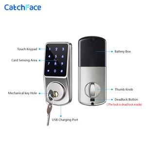 Image 3 - Bluetooth Thông Minh Khóa Cửa Điện Tử Mở Khóa với TTLock ỨNG DỤNG Chìa Khóa Dự Phòng Khóa Số Cho Văn Phòng Nhà Căn Hộ Khách Sạn Trường