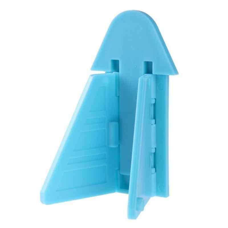 5 ชิ้น/ล็อตเด็กล็อคความปลอดภัยสำหรับเลื่อนประตูหน้าต่างเด็กล็อคล็อคความปลอดภัยสำหรับ Push-Pull ประตูตู้เย็น