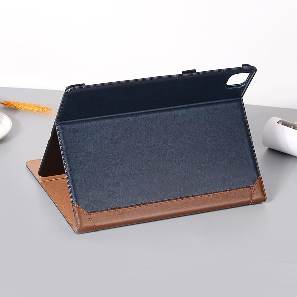 Pro Pad i Fold Case Book 12 Leather Smart PU 2020 iPad 2018 for iPad Case Folio 9 for