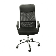 Swivel Chair Style Mesh Lift Chair and Office Chair with Specific Use Fashionable Chrome Armrest