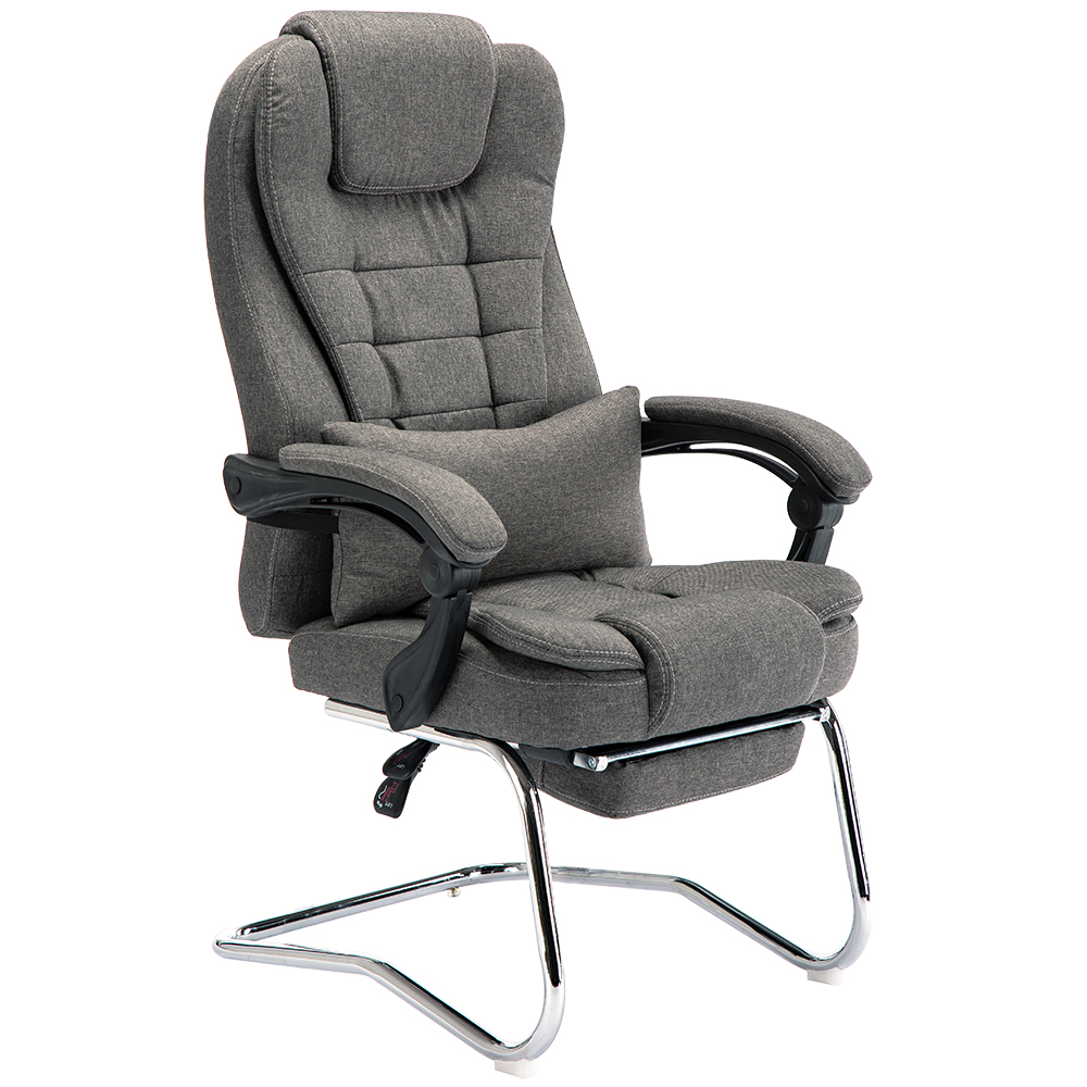 Fabric Home Computer Chair Can Lie Staff Meeting Cowhide Boss Chair Leather Massage Chair Bow Office Chair Chair|  - title=