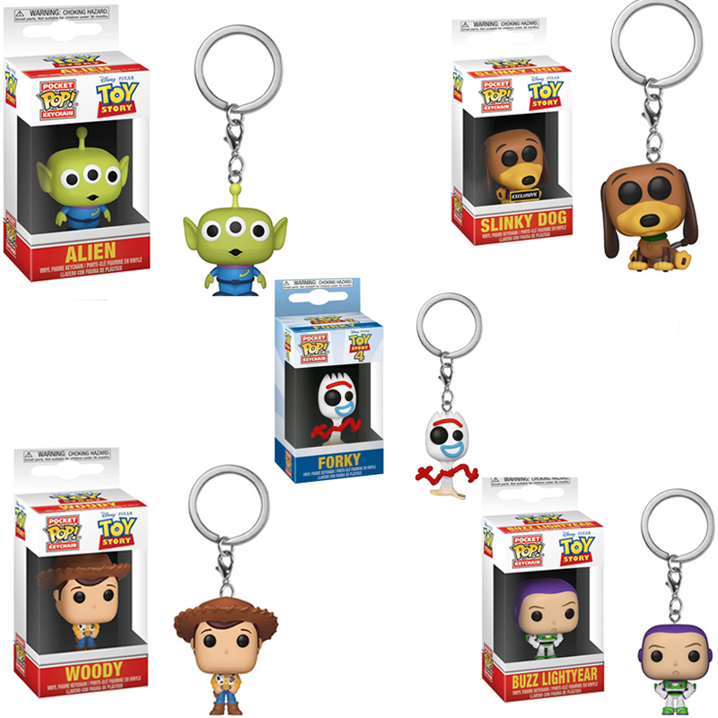 Toy Story 4 Funko Pop Buzz Lightyear Keychain