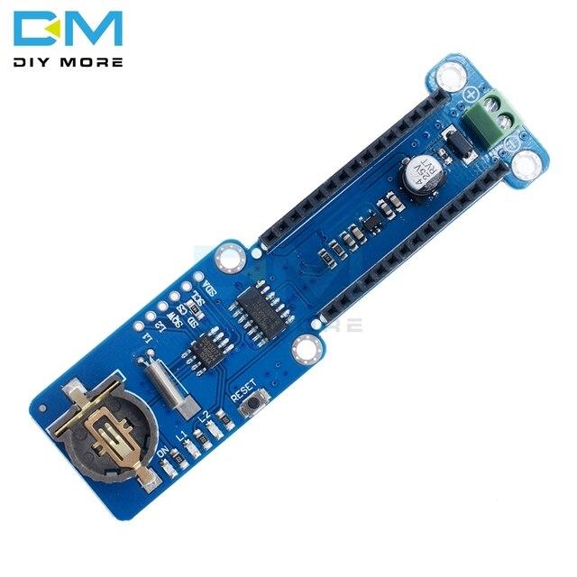 Nano V3.0 3.0 Module de protection denregistrement denregistrement de données pour Arduino Nano enregistreur 3.3V avec Module dinterface de carte SD horloge en temps réel RTC