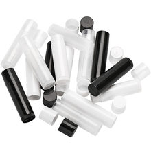 100 pièces cosmétique vide Chapstick brillant à lèvres rouge à lèvres baume Tube avec bouchons conteneur bouteille pour dame femmes maquillage outil