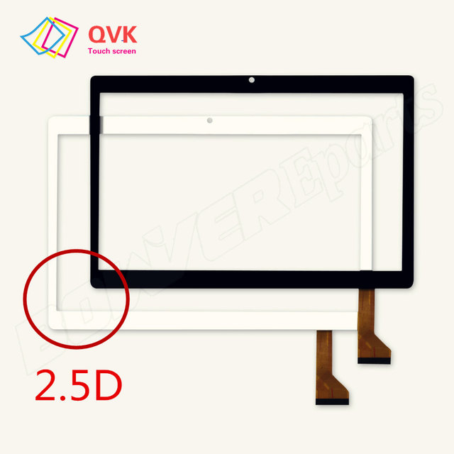 2.5D New 10.1 Inch touch screen for DEXP Ursus N210 N310 N410 3G 4G Capacitive touch screen panel repair replacement parts