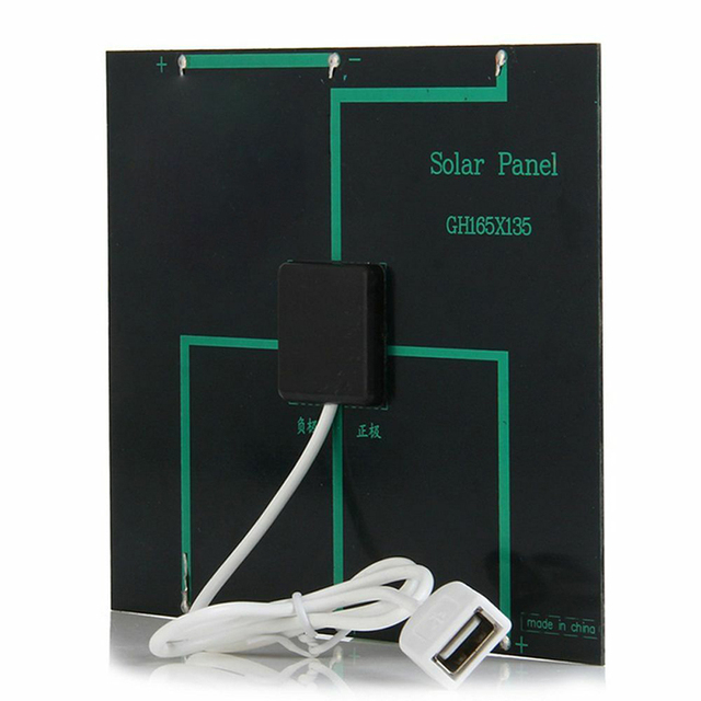 Newly Solar Panel System Charger 3.5W 6V Charging for Mobile Phone Power Bank Camping MK 4