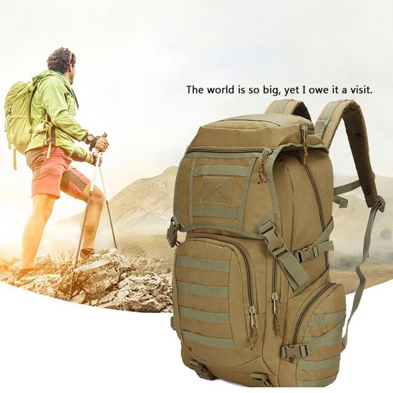 Imperméable à l'eau 50L grande capacité sac à dos système Molle Camping randonnée sacs à dos en plein air Trekking chasse sac à dos sacs