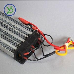 Image 5 - Calentador Industrial de 2500W y 220V CA CC, calentador de aire de cerámica PTC, calentador eléctrico con aislamiento de 330x76mm con protector de termostato