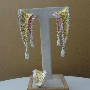 Image 4 - Yuminglai dubai conjuntos de jóias de fantasia design exclusivo para mulher fhk8944