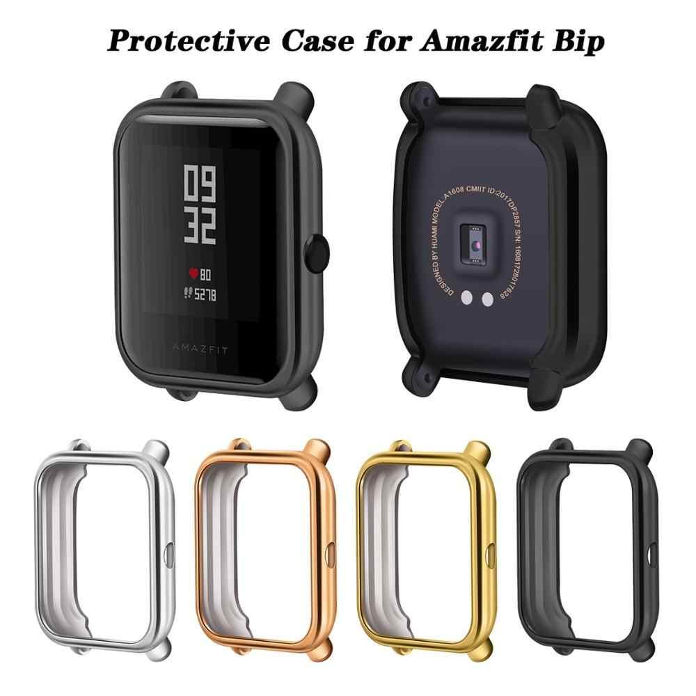 Pour étui de Bip Amazfit étui de protection en TPU souple étui de protection pour Xiaomi Huami Amazfit Bip protecteur de montre Youth Lite