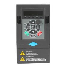 220V 1.5KW Frequency Inverter 1 Input 3 Phase Output Universal VFD Variable Frequency Drive Converter Inverter 0 75kw 1hp 300hz general vfd inverter frequency converter 3phase 380vac input 3phase 0 380v output 2 1a