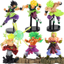 Dragon Ball Z Super Senshi Broly Super Saiyan PVC Collectible Figure Dragonball Action Figure Model Toys(China)