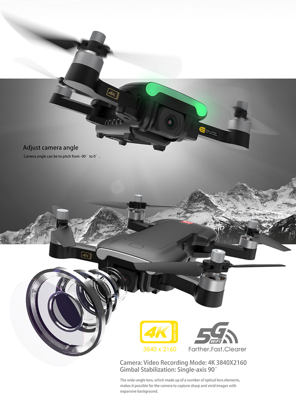 MJX Bugs 7 B7 GPS Drone With 4K 5G WIFI HD Camera Brushless Motor RC Quadcopter Professional Foldable Helicopter VS X12 K20 Dron (1B BX)