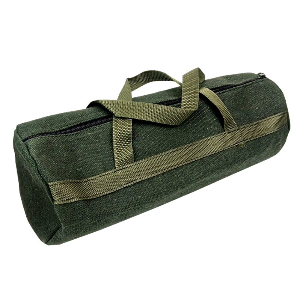 Tool Storage Bag Practical Portable Canvas Professional Storage Thicker Instrument Case Pouch Durable Holder Tote Drill Driver