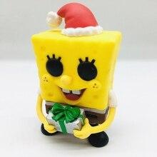Cartoon SpongeBob -Squarepants Vinyl Pvc Action Figure Toy Anime SquarePants Display Juguetes Collection Children Birthday Gift 4pcs lot super climber stikbot action figure toy cartoon spider man stik bot funny play collection jouet children birthday gift
