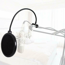 Double Layer Microphone Blowout Prevention Net Cantilever Bracket All-Round Adjustment OUJ99