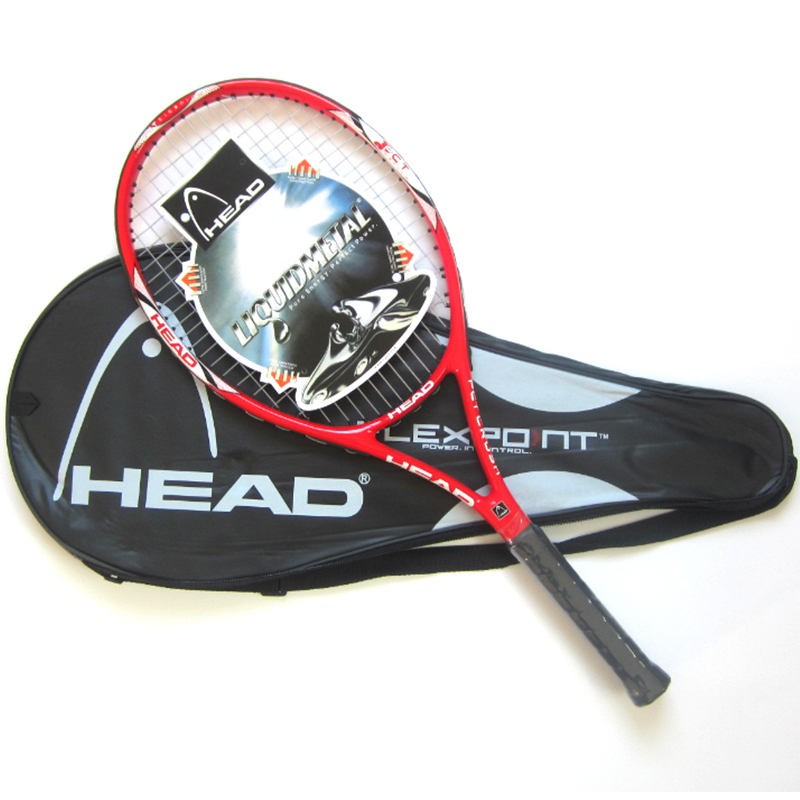 HEAD Tennis Racket Carbon Raqueta Profesional Set With Tennis Bag Overgrip String Tennisracket Padel Raquetas De Tenis Racchetta