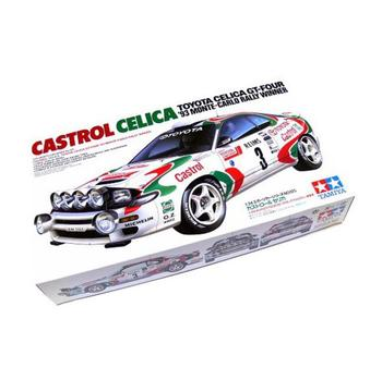 Tamiya 1/24 Toyota Celica WRC Rally model kit # 24125 image