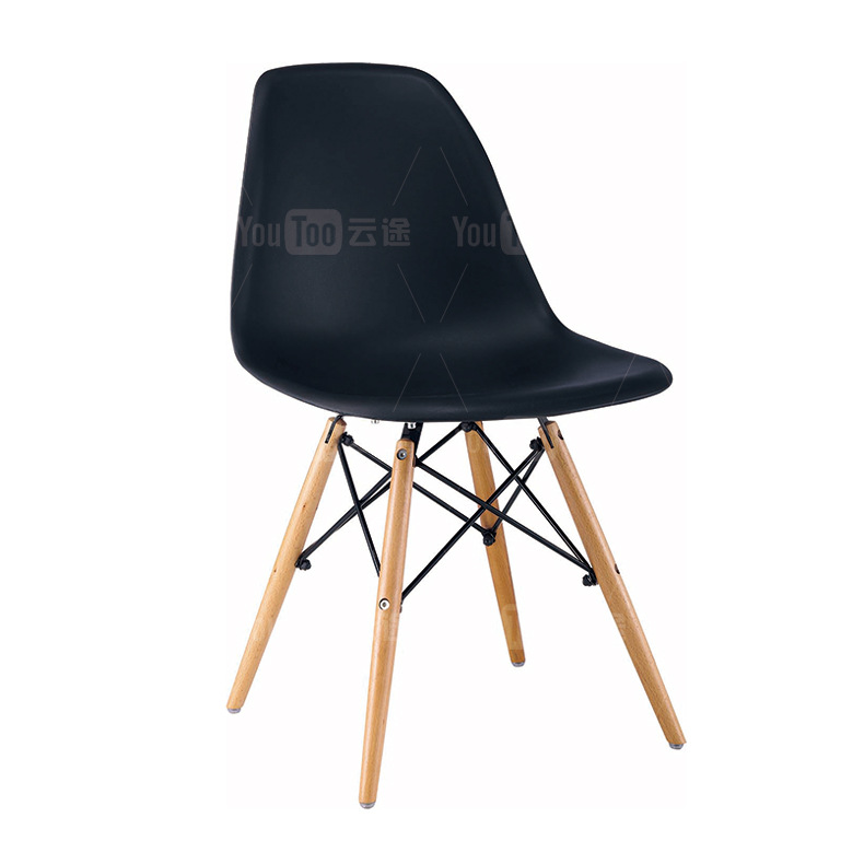 Manufacturers Direct Selling Eames Chair Simple Dining Chair Plastic Chair Fashion Office Solid Wood Dining Tables And Chairs Co
