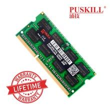 Usine en gros sodimm DDR3 4 GB 8 GB 2 GB 1333 1600 MHZ pour mémoire ram dordinateur portable