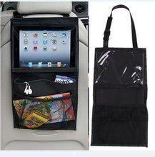 Assento de carro de volta auto organizador titular multi-bolso armazenamento de viagem pendurado tablet pçs sacos de múmia assento de carro do bebê ipad saco de suspensão