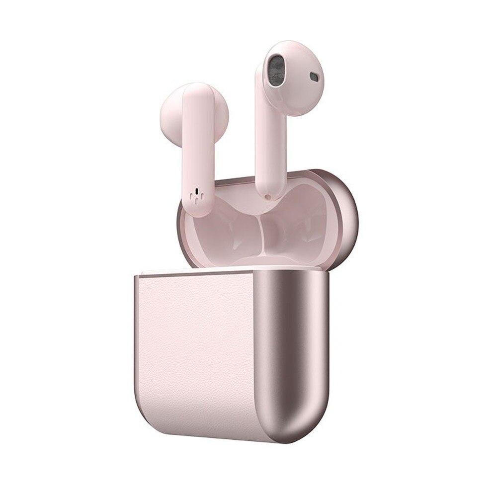 B56 en-oído impermeable de los deportes de reducción de ruido de Auriculares inalámbricos con Bluetooth dos toques bilaterales estéreo inalámbrica 5,0 tapones para los oídos