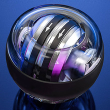 LED Gyroscopic Powerball Autostart Range Gyro Power Wrist Ball With Counter Arm Hand Muscle Force Trainer Fitness Equipment