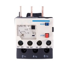 3 Poles AC 9A - 13A Thermal Overload Electric Relay 1 NO 1 NC(China)