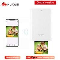 Huawei originais AR Portátil Impressora de Bolso Foto Mini Portátil DIY Impressoras Fotográficas para Smartphones Bluetooth 4.1 300dpi de Impressora|Impressoras| |  -