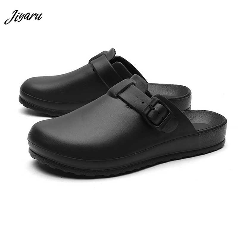 Surgical Sandal Shoes Medical Slippers Doctors Nurses Working Shoes Women Men Anti-slip Operating Room Lab Slippers Waterproof