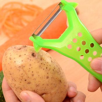 Nóż do parowania obieraczka do ziemniaków kuchenny owoc skrobak do strugarki tanie i dobre opinie Tarki Ekologiczne Z tworzywa sztucznego