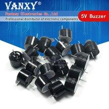 10 pces buzzer ativo alarme 5v 12*9.5mm sonoro alto-falante buzzer
