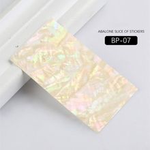 1 Sheet Acrylic Nail sticker Shell Piece With Adhesive Rhinestone & Decoration Laser Manicure Beauty Tool 10 Optional