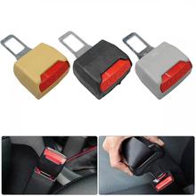 Zaczep na pas bezpieczeństwa wtyk przedłużacza fotelik samochodowy zamek klamra pas bezpieczeństwa klip Extender Converter akcesoria samochodowe tanie tanio CN (pochodzenie) 8 8cminch plastic + metal Extend your seat belt buckle 0 04kg 4cminch seat belt clip seat belt cover seat belt extender
