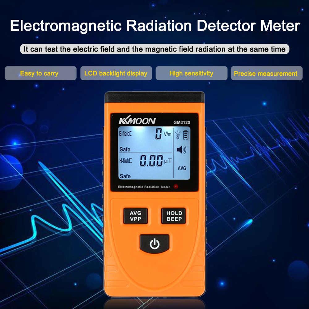 Digitale Lcd Elektromagnetische Straling Detector Meter Dosimeter Tester Teller Diagnose-Tool Met Straling Sensor