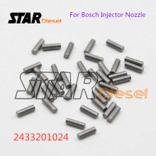 Ster Diesel 5 Pcs Common Rail Injector Nozzle Druk Pin 2433201024 Auto Motor Magneetventiel Treknagel(China)