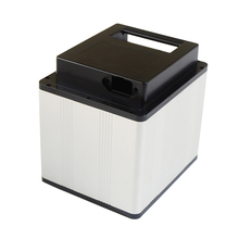 12V/24V/36V/48V akumulator litowo jonowy skrzynka aluminiowa na 18650 26650 32650 akumulator litowo jonowy
