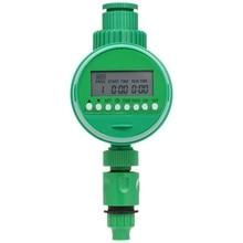 Автоматический таймер орошения, одиночный выход шланг кран таймер цифровой ЖК электронный бытовой таймер воды Открытый водонепроницаемый Gard