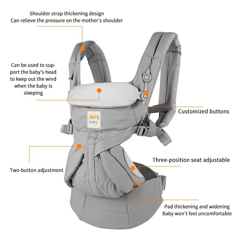 Egobaby omni Baby Träger Multifunktions Atmungsaktive Infant Träger Rucksack Kid Wagen Kleinkind baby Sling Wrap Hosenträger 360