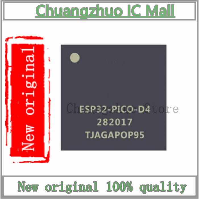 10PCS/lot <font><b>ESP32</b></font>-<font><b>PICO</b></font>-<font><b>D4</b></font> QFN-48 <font><b>ESP32</b></font> QFN48 SMD IC Chip New original image