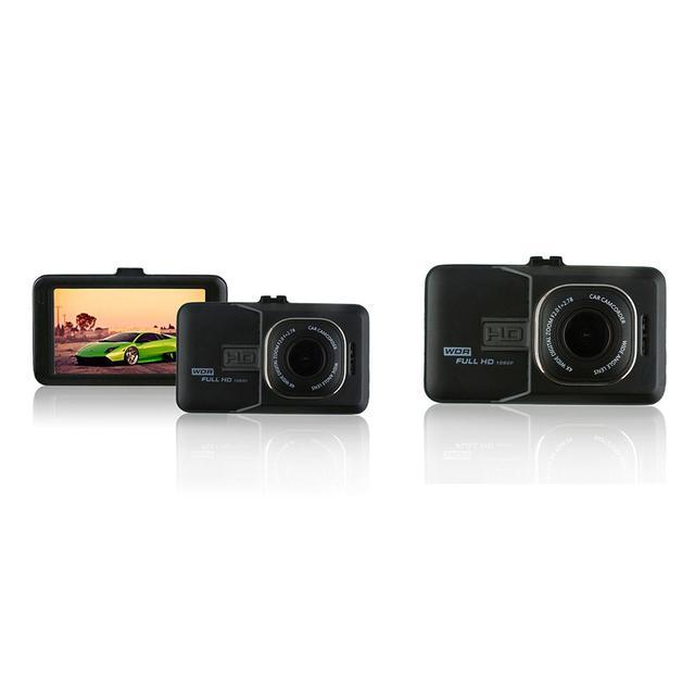 Car DVR Driving Recorder Full HD 1080P 3 Inch Vehicle Camera DVR EDR Dashcam Motion Detection Night Vision G Sensor USB AV-Out 5