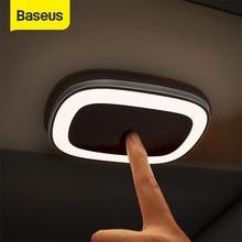 Baseus lampada da lettura magnetica per Auto lampada da soffitto a LED per tetto automatico lampada ambientale ricaricabile per illuminazione di emergenza per bagagliaio