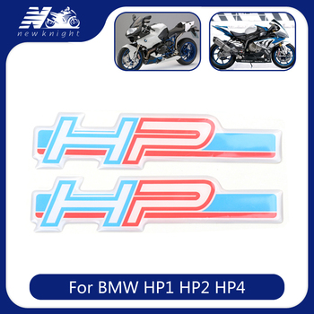 For BMW HP HP1 HP2 HP4 2019 2020 Motorcycle Tank pad 3D Logo Sticker Body Shell Decal Side Panel Protector Fairing Emblem Badge image