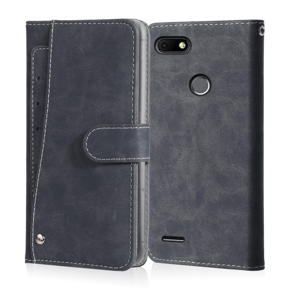 Luxury Vintage <font><b>BQ</b></font> 5515L Fast <font><b>BQ</b></font> <font><b>5516L</b></font> 5517L <font><b>Twin</b></font> Pro 5520L Silk Case Leather Flip Wallet Card Stand Magnetic Book Phone Cover image