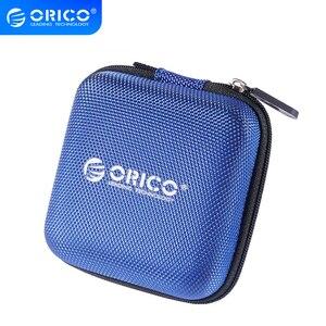 Image 1 - ORICO אוזניות בעל מקרה שקית אוזניות אביזרי נייד לחץ הלם קליטה USB כבל נתונים אחסון חבילה תיק