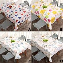 Mantel impermeable y a prueba De aceite para la cocina decorativo cubierta De la Mesa De comedor Manteles De Mesa Rectangular Tapete