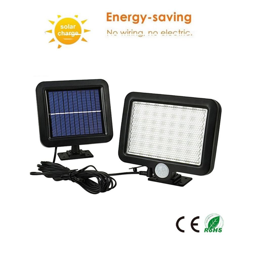 56/30 LED Led Solar Light Outdoor Waterproof Lighting For Garden Wall Adjustable Mode Rotable Pole Solar Lamp Emergency Light Sp